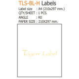 210x297 mm. Label