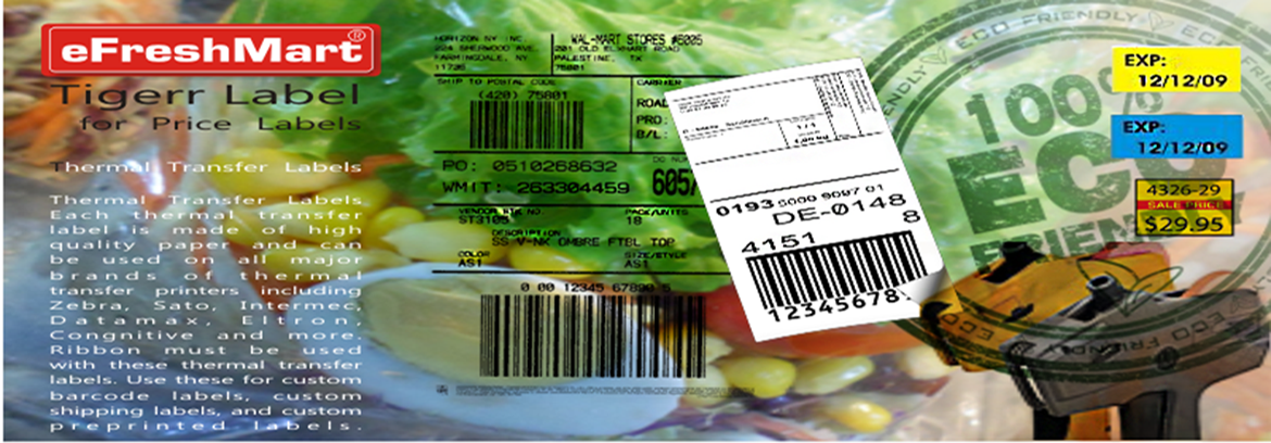 eFreshMart Labels